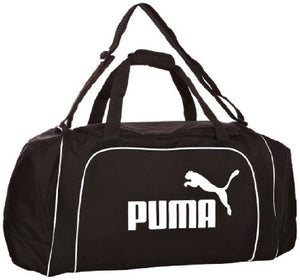 Puma Black/White Large Team Holdall