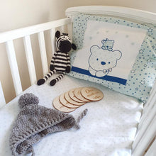 Load image into Gallery viewer, 4 Piece Bonita cot set Mint