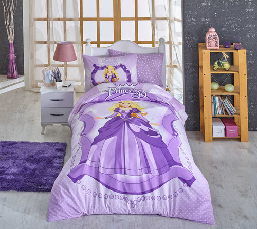 organic-cotton-quilt-cover-set-Princess-purple-single