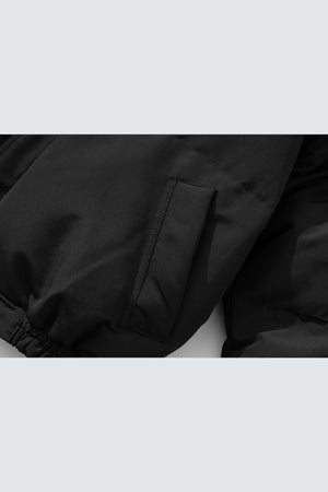 Puffer Jacket - Black - SVPPLY. STUDIOS