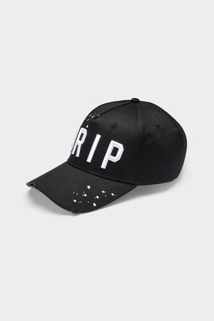 "Distressed ""DRIP"" Embroidered Trucker Cap - SVPPLY. STUDIOS"