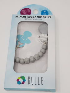 Attache-suce Bulle Billes gris