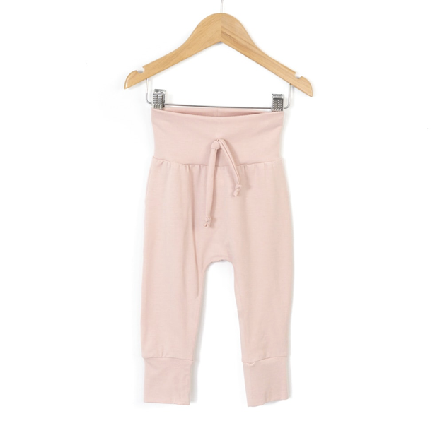 Pantalon harem rose