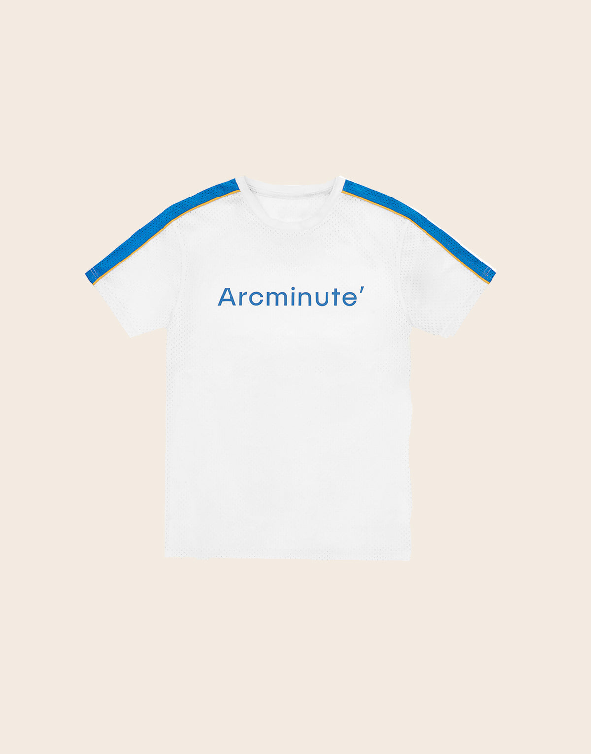 Wiles T-Shirt White & Blue - Arcminute