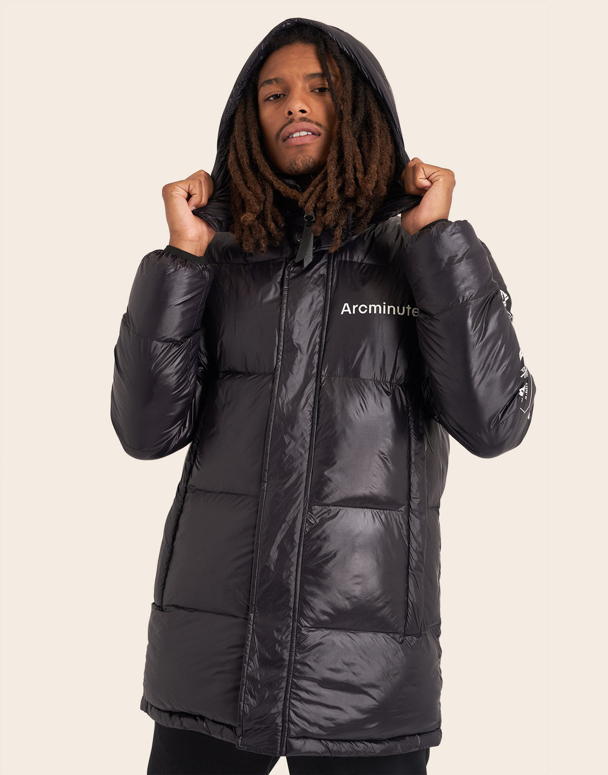 Warp V2 Puffer Jacket Black