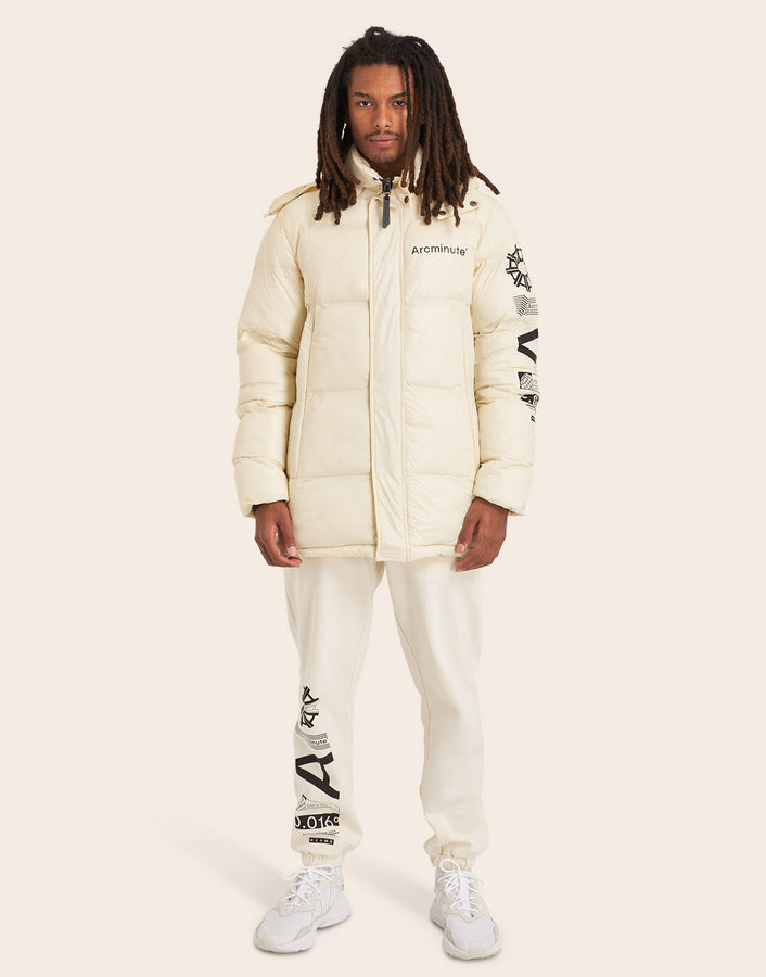Warp V2 Puffer Jacket Off White