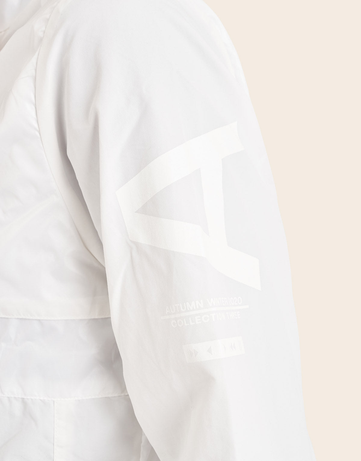 Greenwitch Windbreaker Off White
