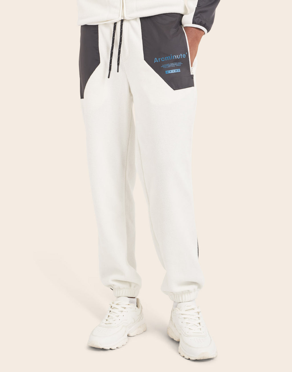 Sherman Joggers Off White