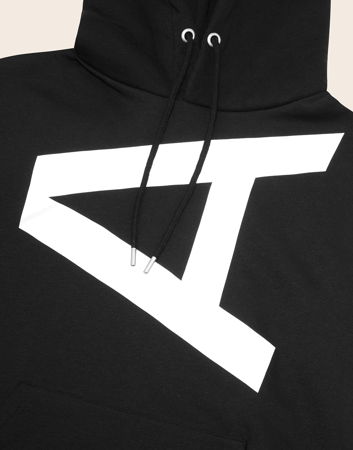 Brixton Reflective Hoodie Black - Arcminute