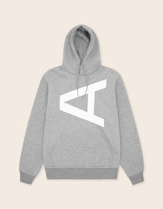 Brixton Reflective Hoodie Grey - Arcminute