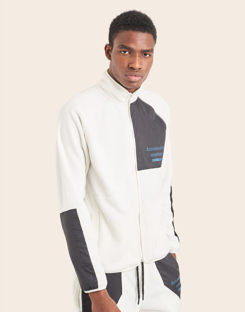 Bramdean Track Top Off White