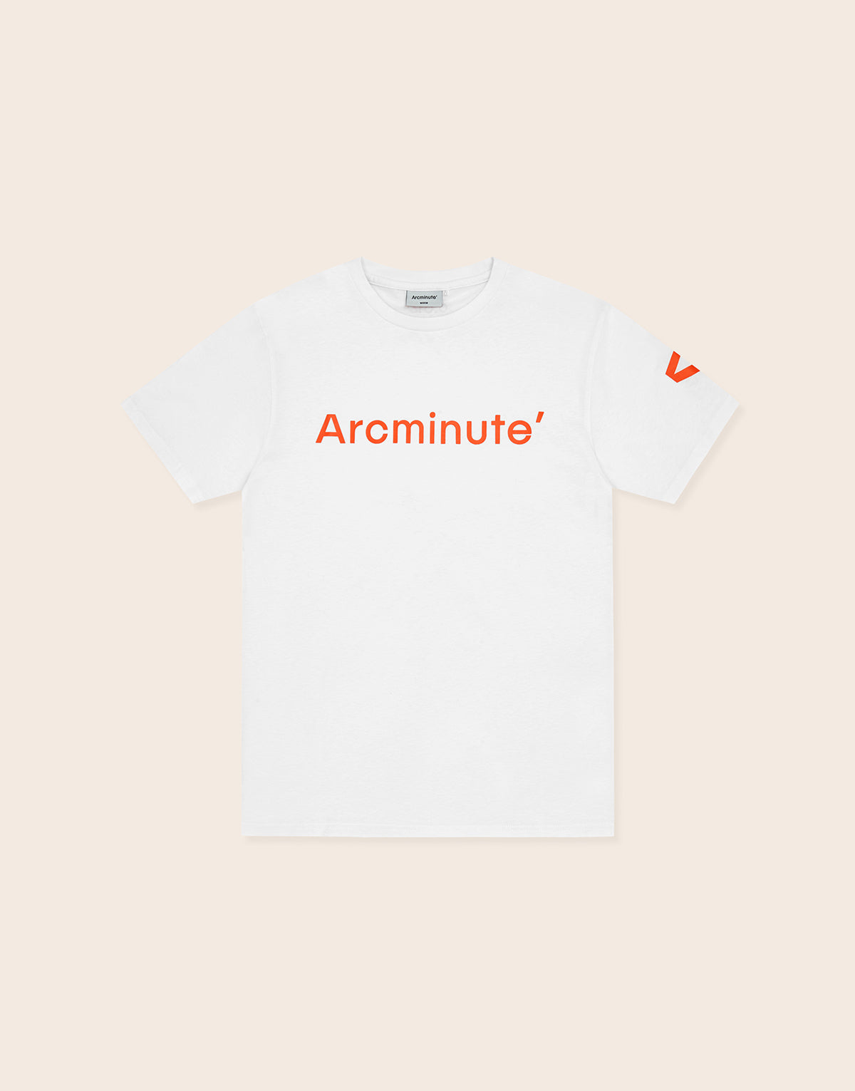 Block T-Shirt White - Arcminute