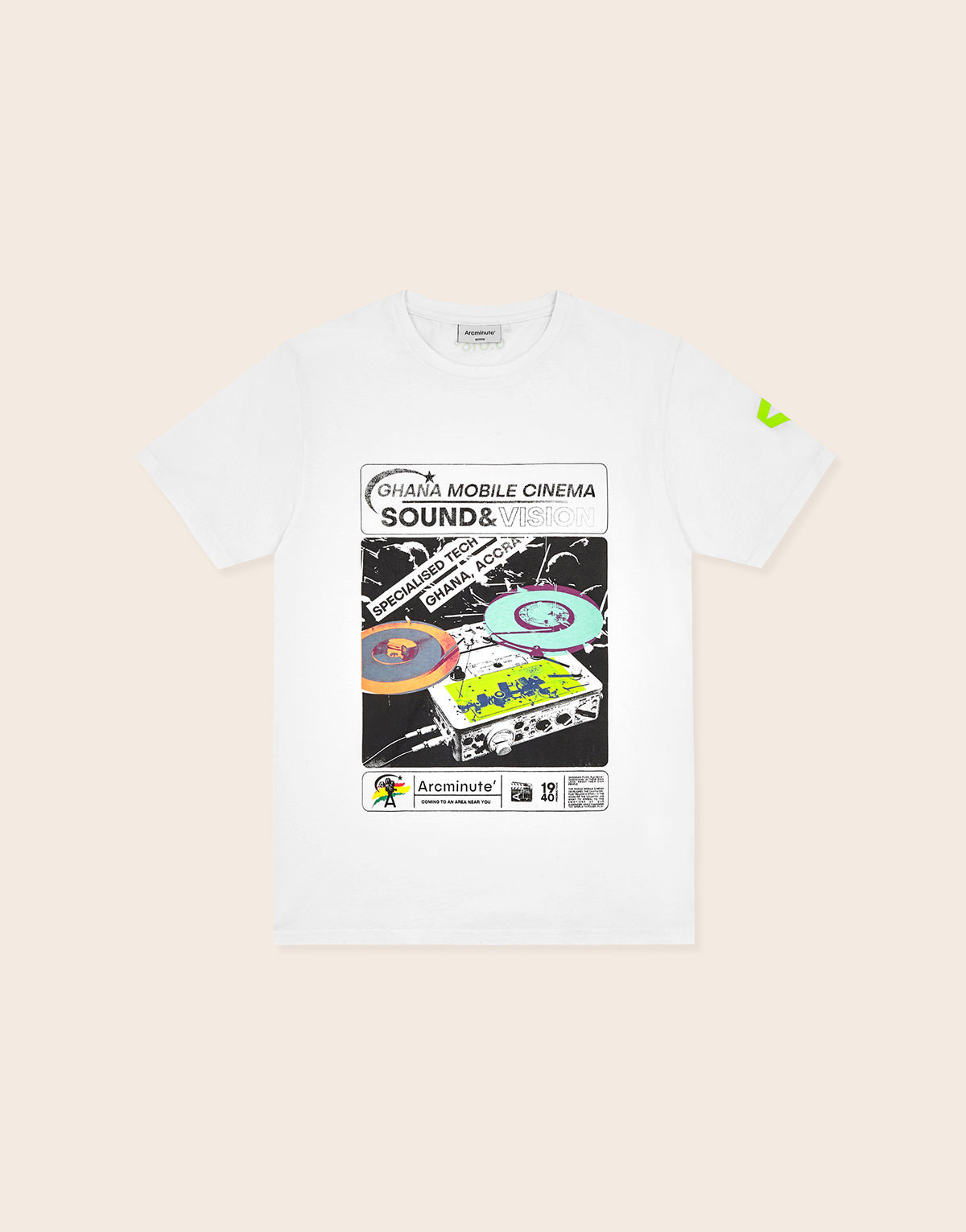 Prof T-Shirt White - Arcminute