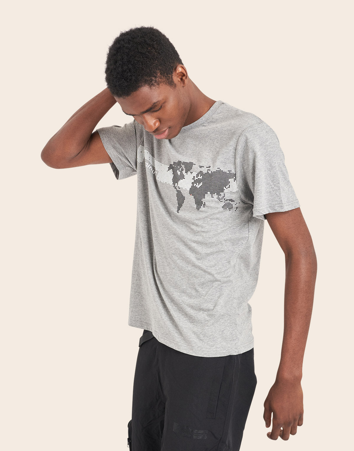 Romney T-Shirt Grey Marl