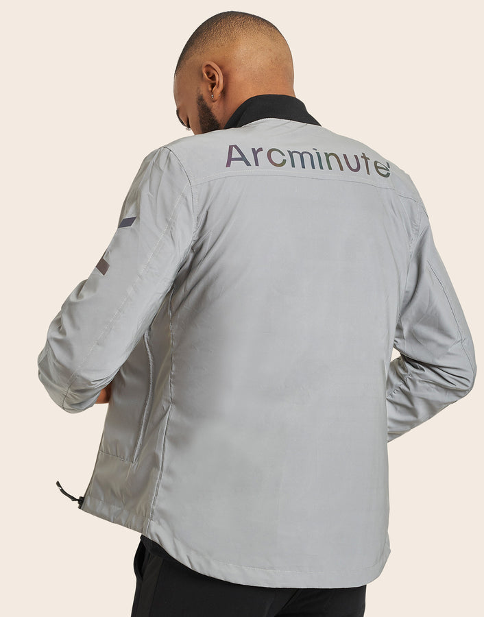 Lightening Reflective Bomber Jacket - Arcminute