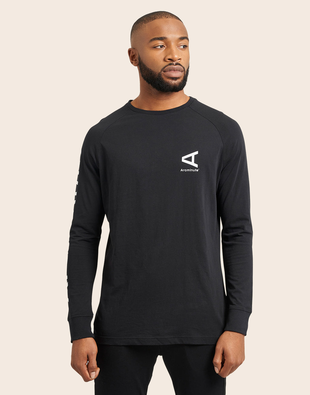 Altare Long Sleeve T-Shirt Black - Arcminute