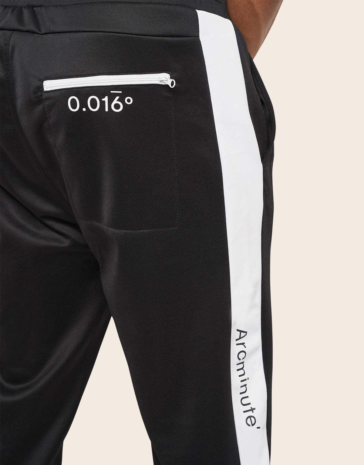 Academy Track Bottoms Black - Arcminute