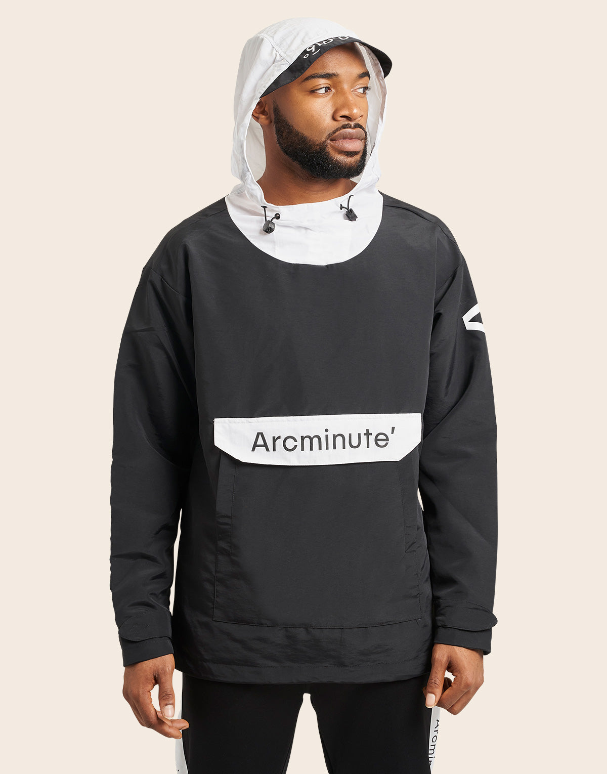 Fox Windbreaker Black - Arcminute