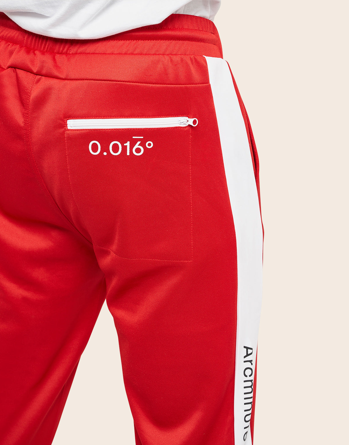 Academy Track Bottoms Red - Arcminute