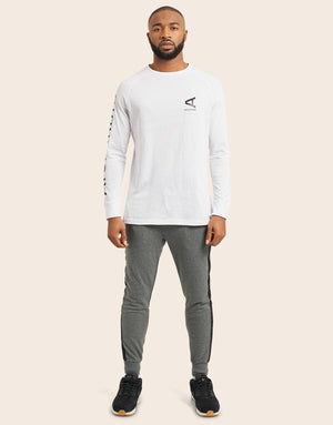 Altare Long Sleeve T-Shirt White - Arcminute