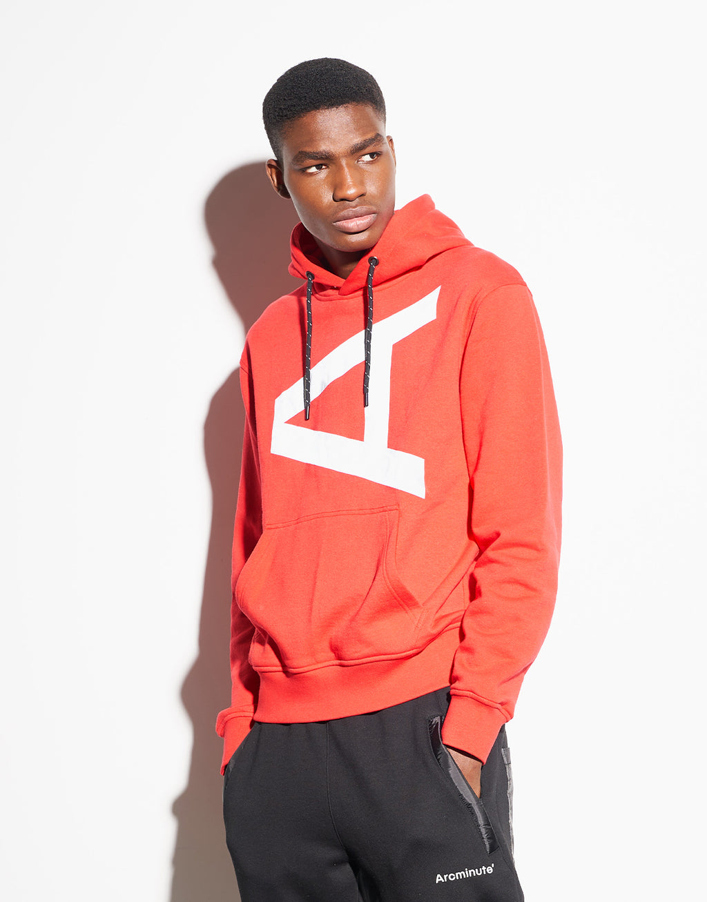 Bluford Hoodie Red - Arcminute