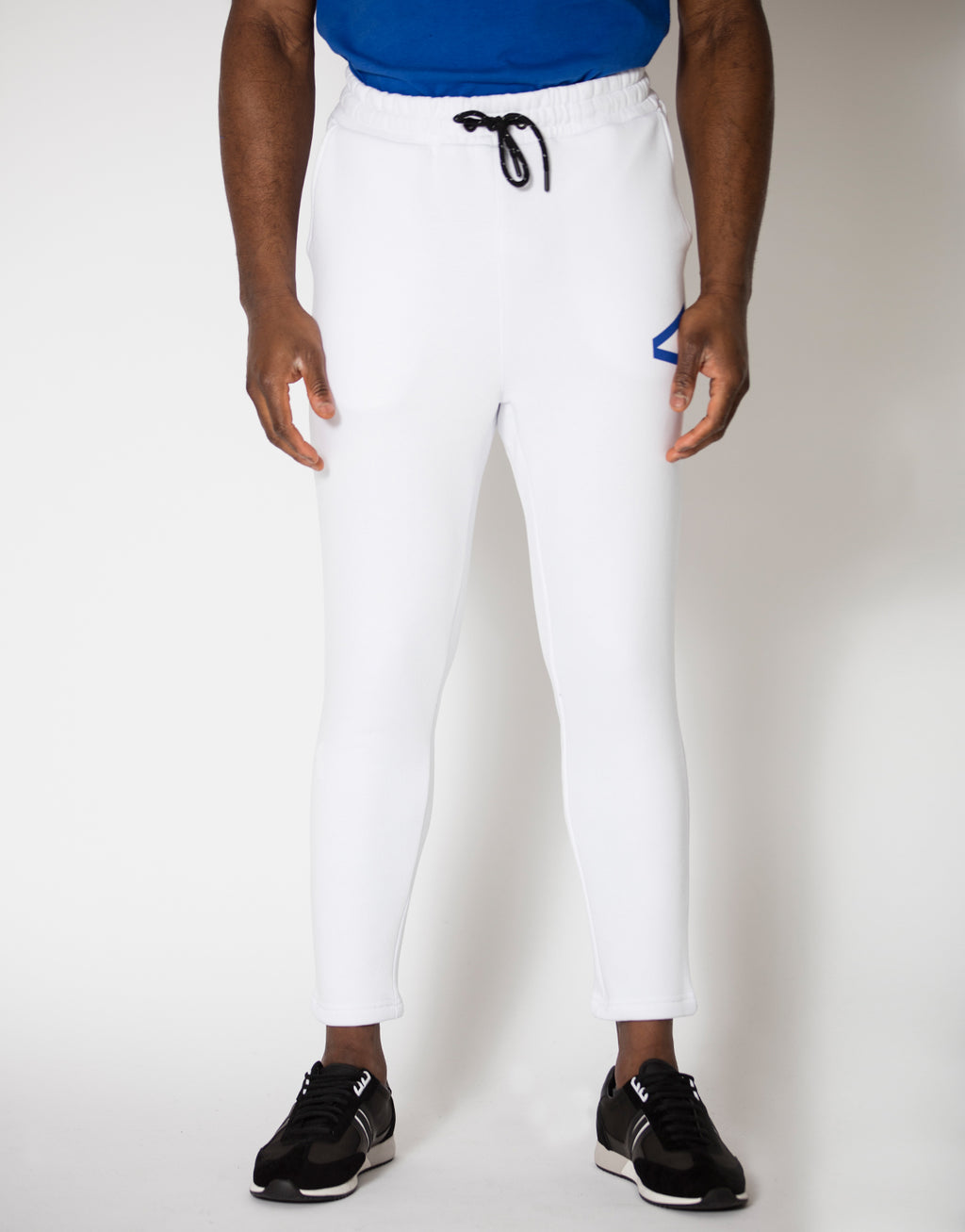 Borman Joggers White