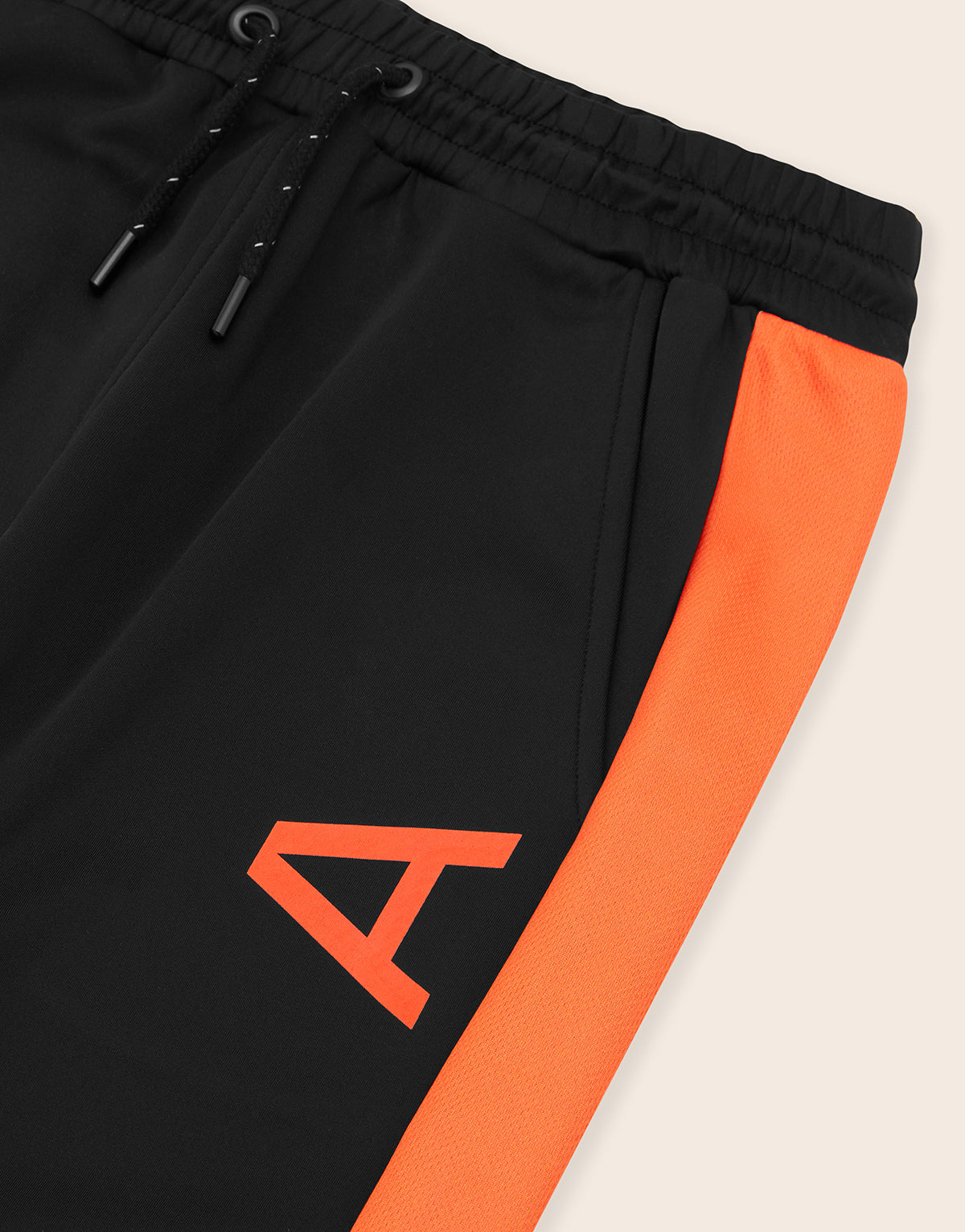 Miletus Joggers Black & Orange - Arcminute