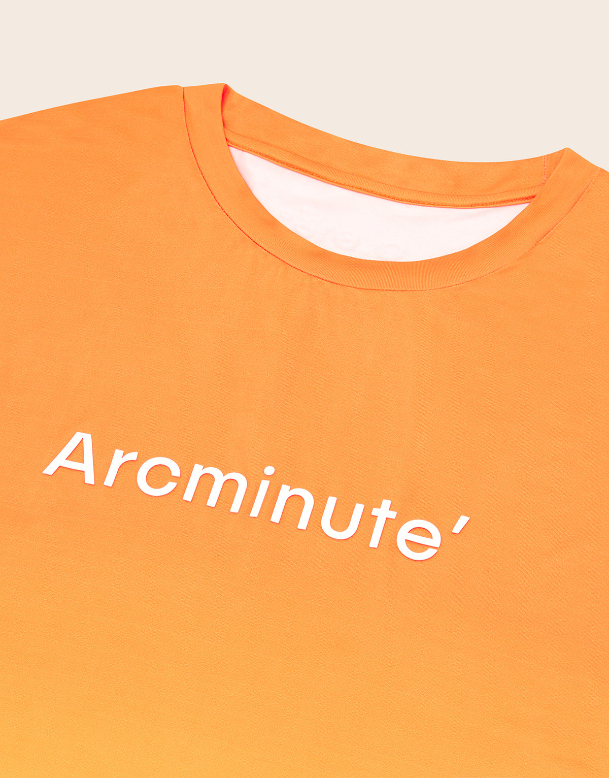 Riemann T-Shirt Orange - Arcminute