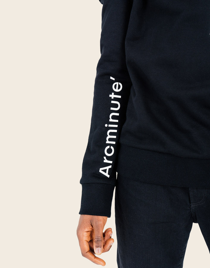 Accurate Sweatshirt Black - Arcminute