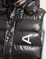 Marty Puffer Gilet Black - Arcminute