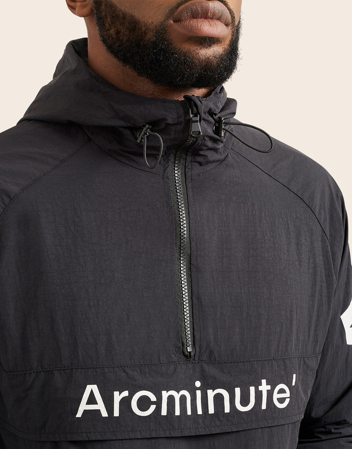 Flair Windbreaker Black - Arcminute