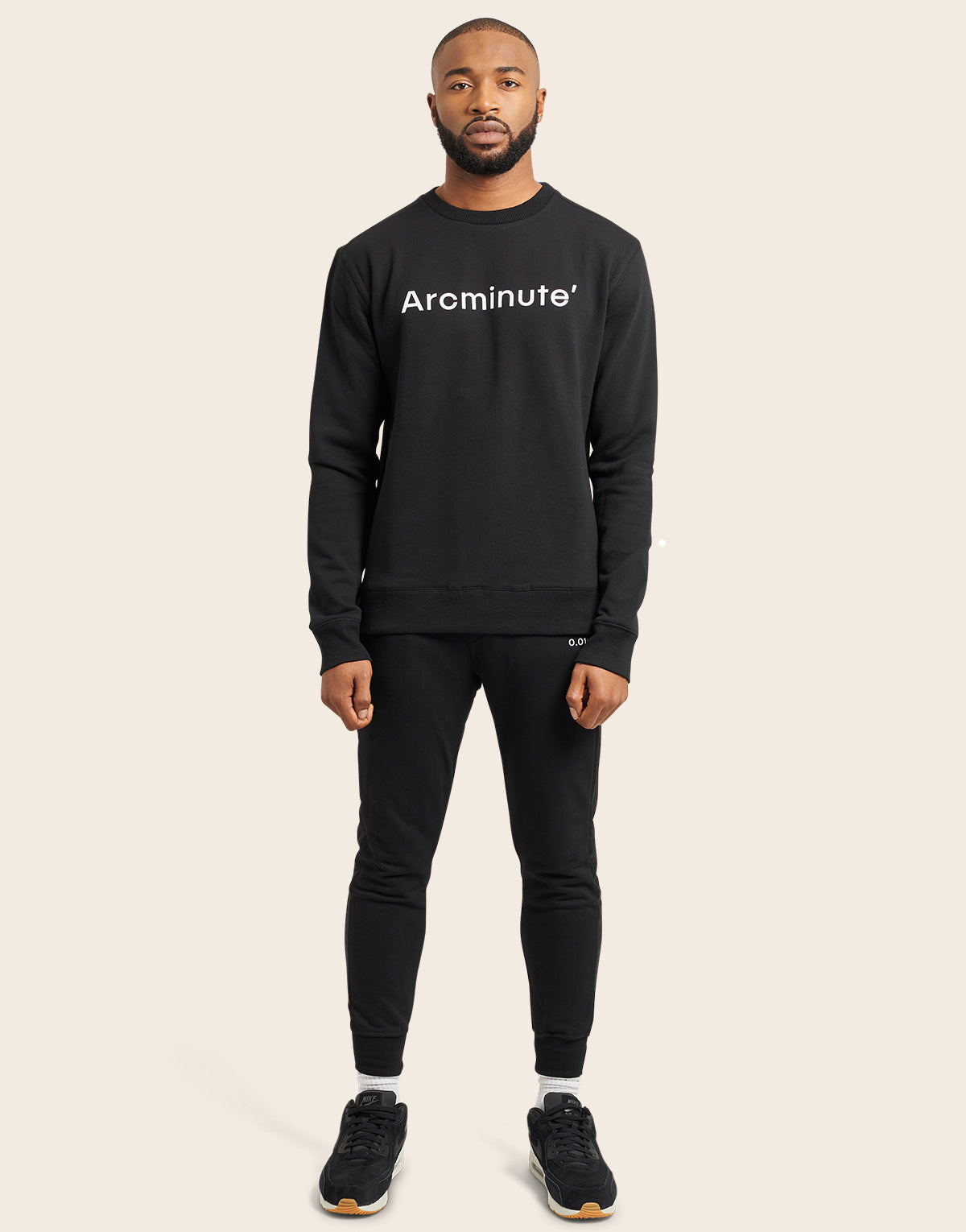 Terrestrial Jumper Black - Arcminute