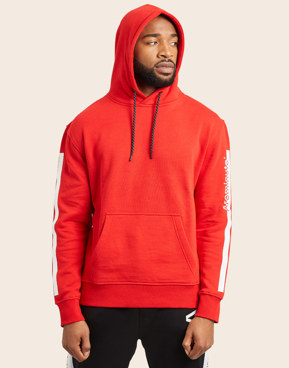 Fiction Hoodie Red - Arcminute