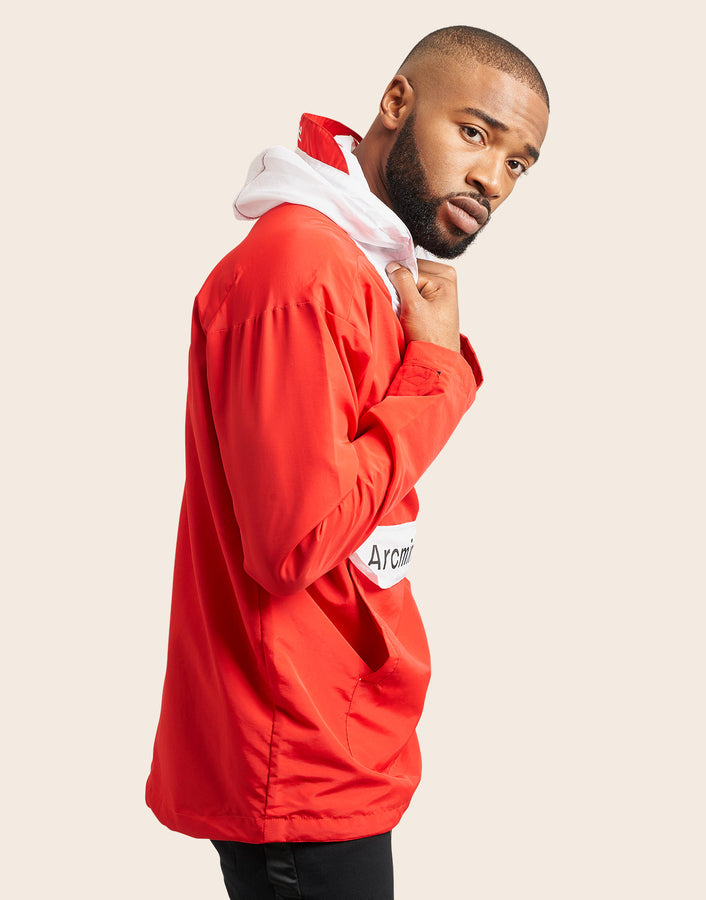 Fox Windbreaker Red - Arcminute