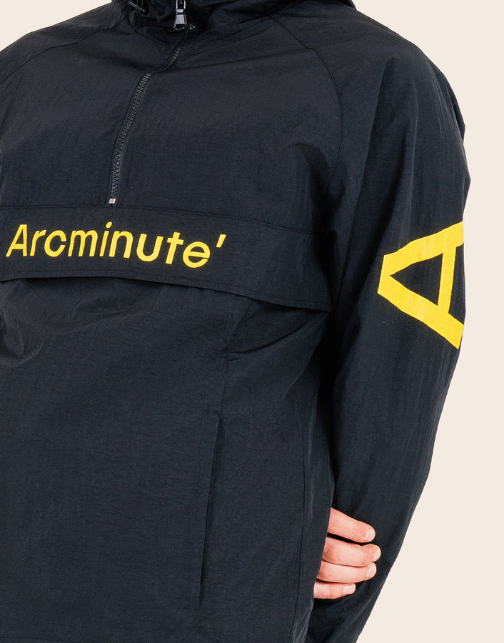 Solar Windbreaker Black - Arcminute