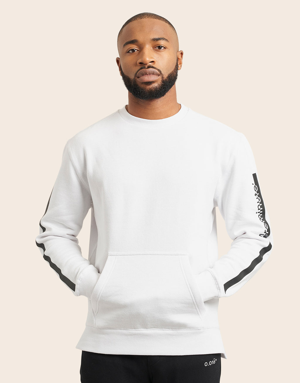Delorean Crewneck White - Arcminute