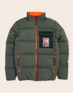 Columbus Puffa Jacket Deep Forest