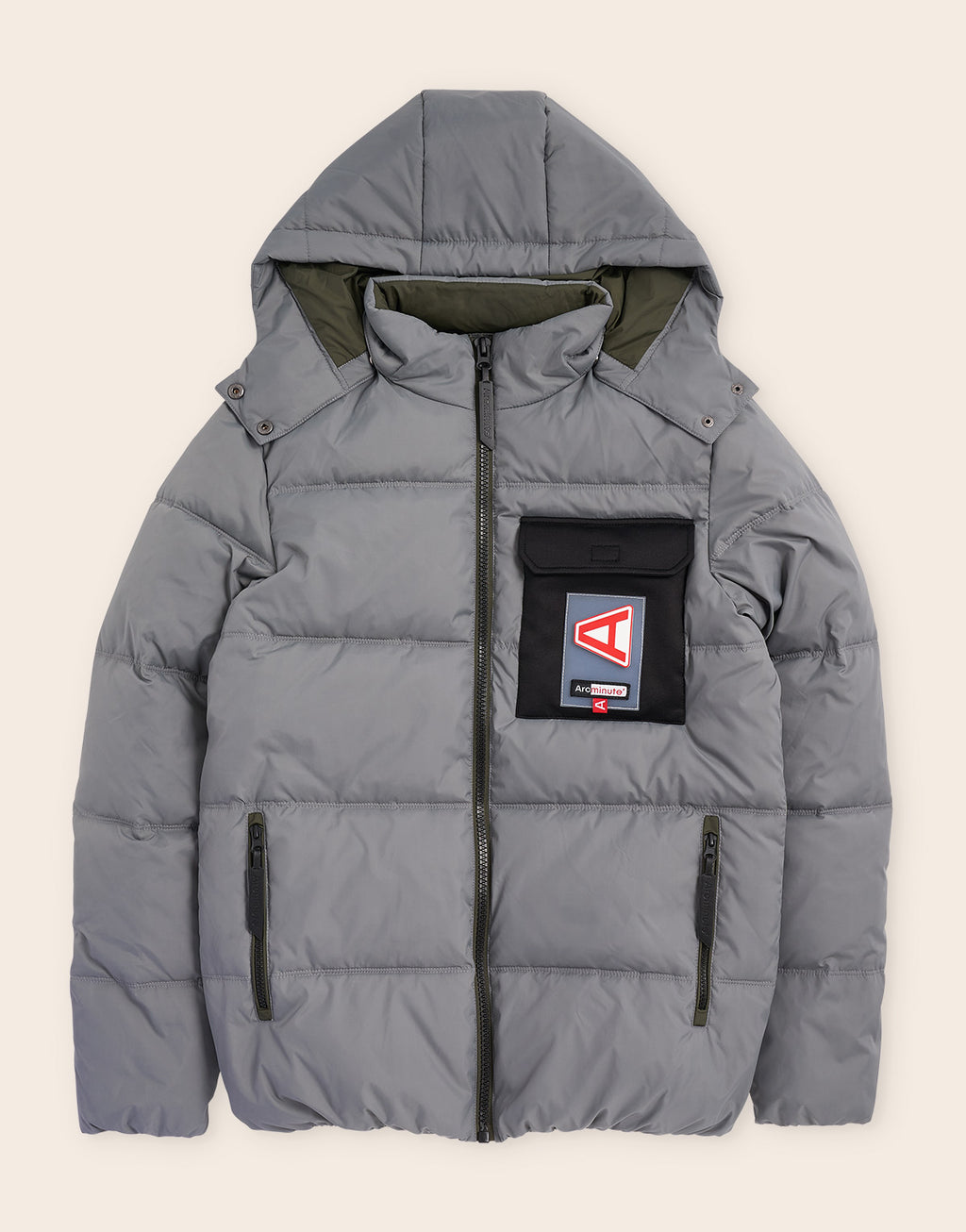 Columbus Puffa Jacket Smoked Pearl
