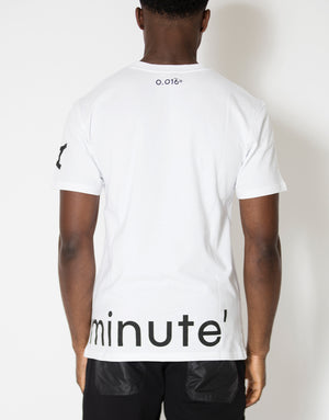 Diaz T-Shirt White - Arcminute