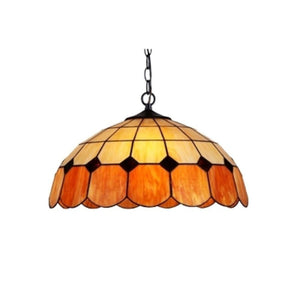 "CHLOE Lighting EILEEN Tiffany-style 2 Light Ceiling Pendant Fixture 18"" Shade"