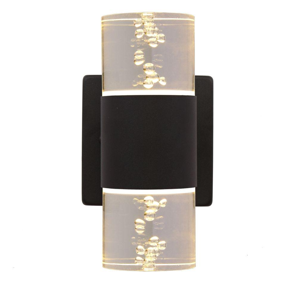 CHLOE Lighting AMBERT 1 Light LED In/Out Door Wall Sconce 3000K Warm White