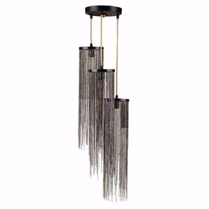 Supremely Stylish 3-Light Chandelier