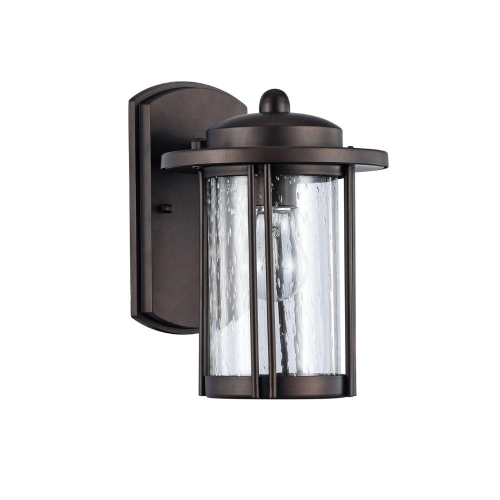 "CHLOE Lighting DOLAN Transitional 1 Light Rubbed Bronze Outdoor Wall Sconce 11"" Height"