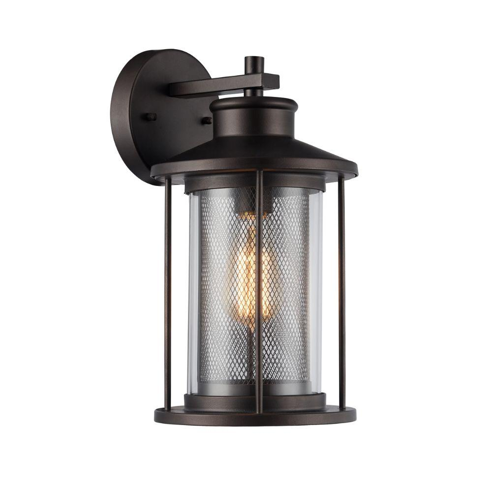 CHLOE Lighting CRICHTON Transitional 1  Outdoor Wall Sconce