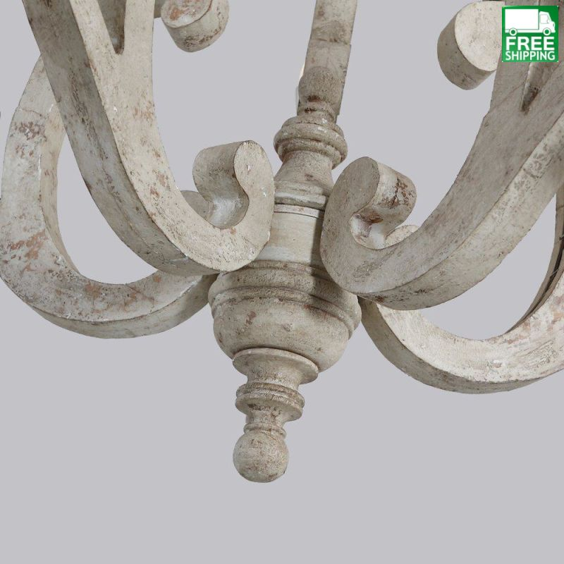 French Country Candelabra Chandelier