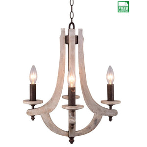 wood and metal chandelier. Retro Iron Wooden 4 Candle Holder Metal Chandelier Wood And H