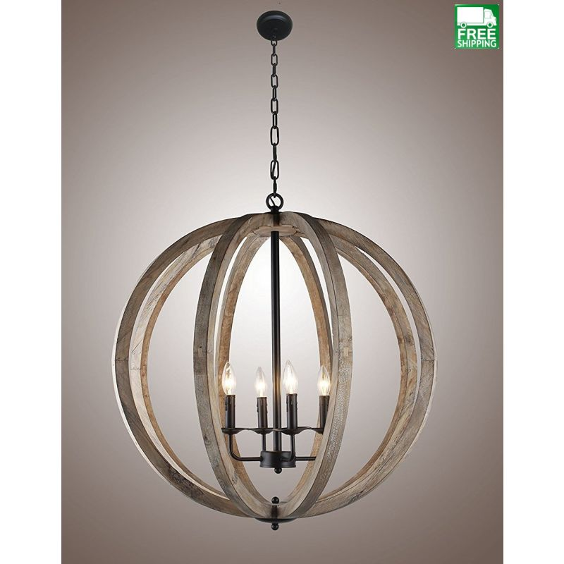 Vintage Orb Light chandelier