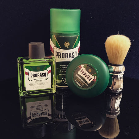 We are very excited to welcome PRORASO and offer it to our men!