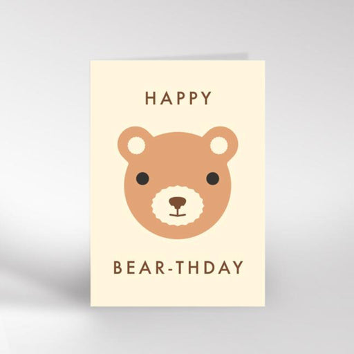 Happy Bear-thday