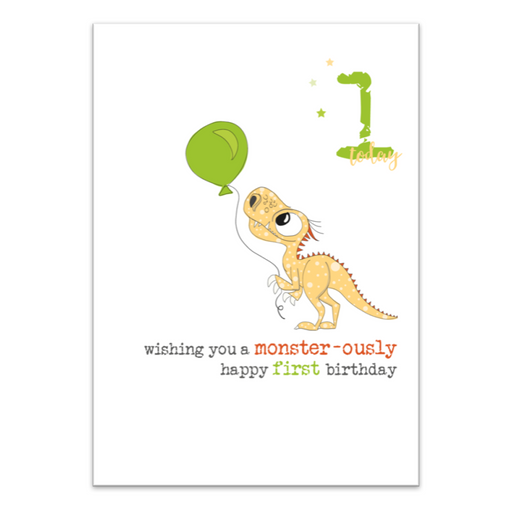First Birthday Green